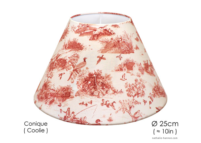 Lampshade Petite Toile Chasse