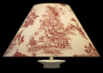 Lampshades Japanese Toile