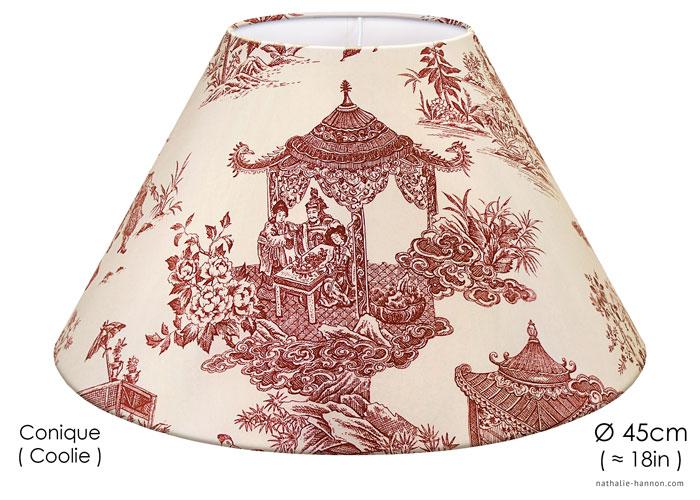 Lampshade Japanese Toile