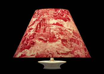 Lampshades China Toile