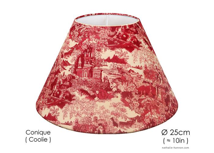 Lampshade Small China Toile