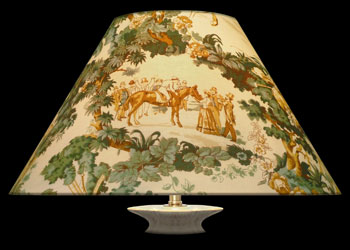 Lampshades Toile