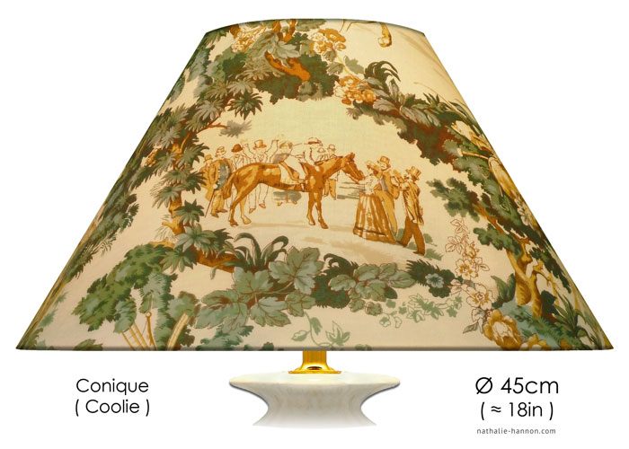 Lampshade Toile Longchamp