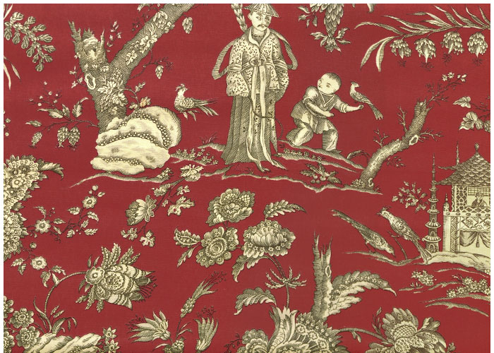 Lampshade Chinese Toile