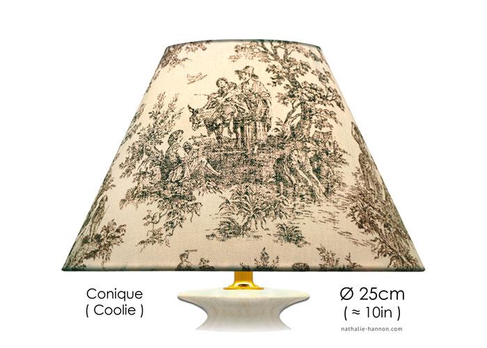 Lampshade Petite Toile Rustique