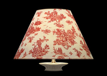 Lampshades Tiny Toile