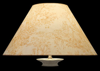 Lampshades Beige Toile
