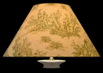 Lampshades Toile Rustique