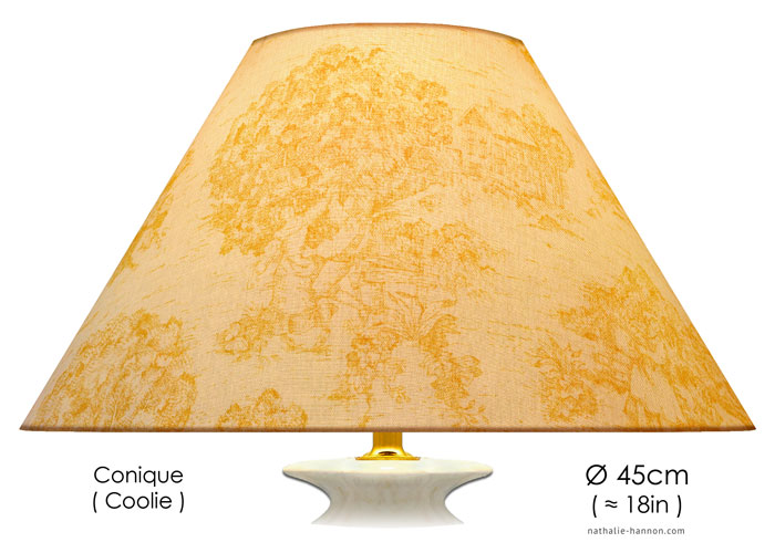 Lampshade French Country Toile