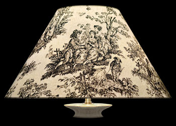 Lampshades Large Toile