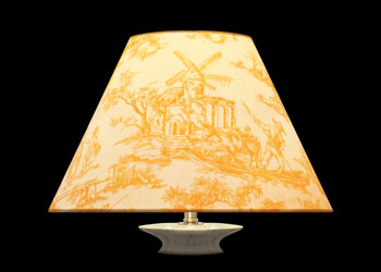 Lampshades Romantic Toile