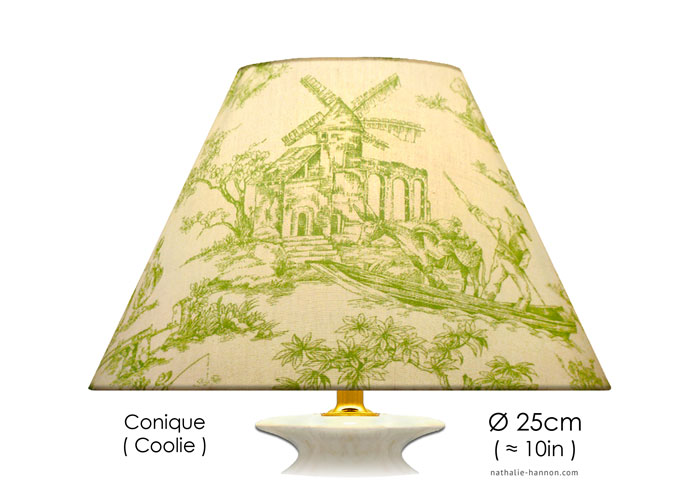 Lampshade Romantic Toile