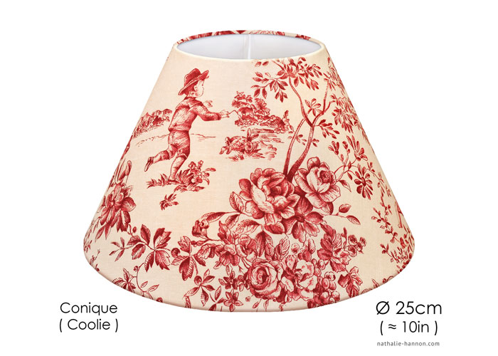 Lampshade Traditional French Toile