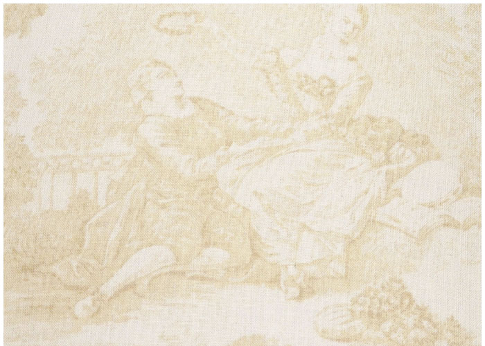 Lampshade Toile Renaissance