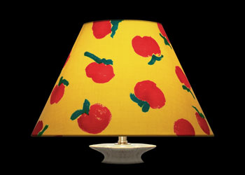 Lampshades Red Apples