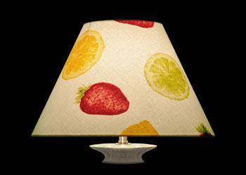 Lampshades Citrons et Fraises