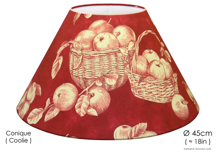 Lampshade Apples in Baskets