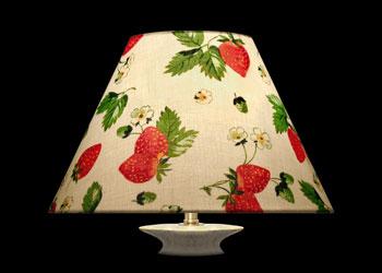 Lampshades Fraises et Floraux