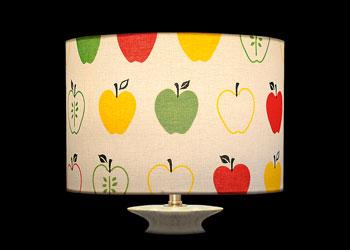 Abat-jour Pommes et demi-Pommes