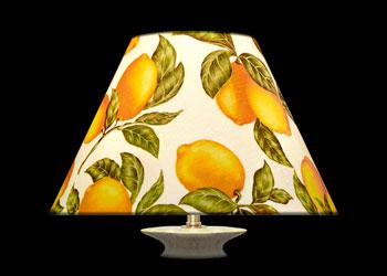 Lampshades Citrons et Feuilles