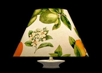 Abat-jour Citrus and Florals