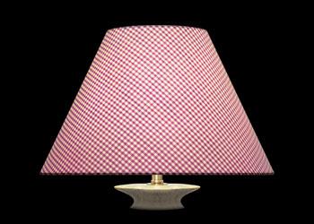 Lampshades Très Petits Carreaux