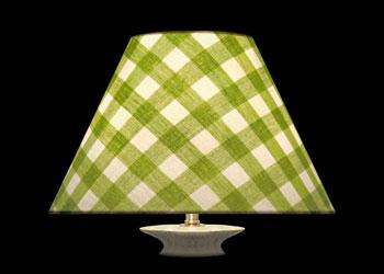 Lampshades Carreaux Vert