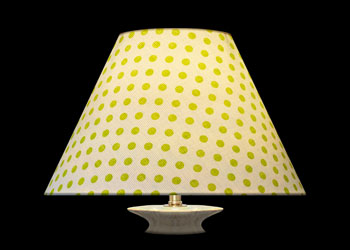 Lampshades Petits Pois Vert