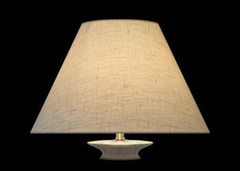 Lampshades Lin Blanc - White Linen