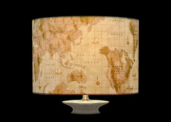 Lampshades World Map