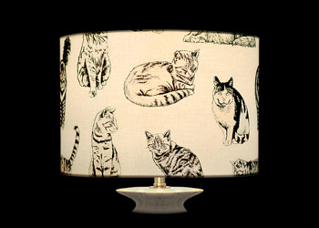 Lampshades Cats