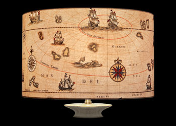 Lampshades Mappemonde