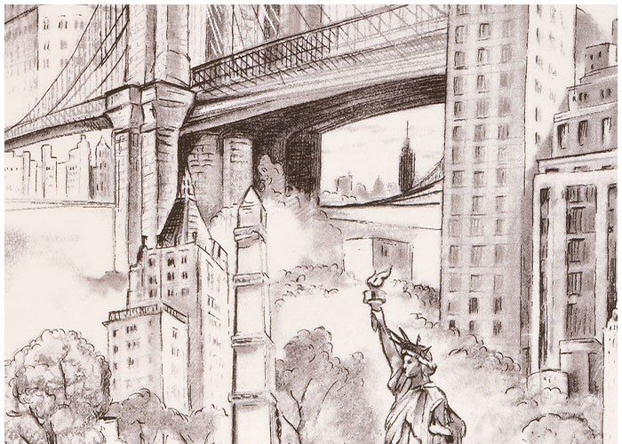 Abat-jour New York