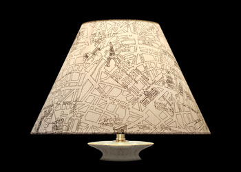 Lampshades Plan de Paris