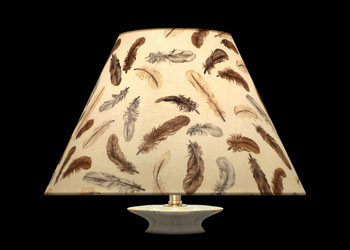 Lampshades Plumes