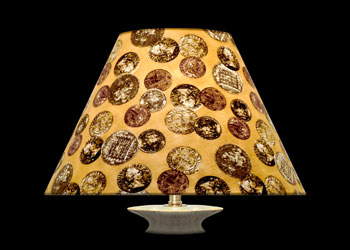 Lampshades Antique Coins