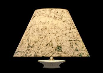 Lampshades Les Rues de Paris
