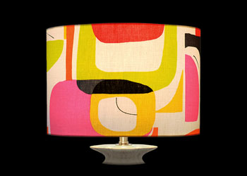 Lampshades Abstract Designs