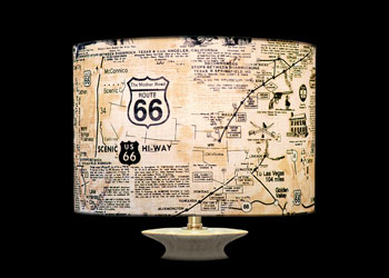 Lampshades Route 66