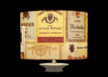 Lampshades Wine Labels