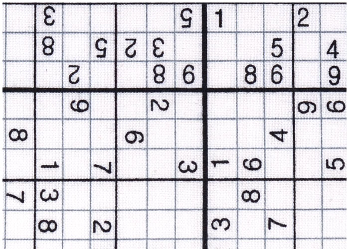 Abat-jour Sudoku