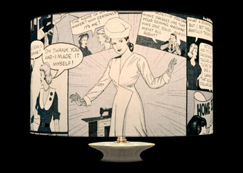 Lampshades Comic Strip