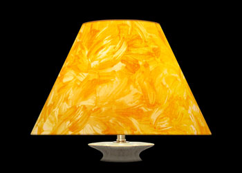 Lampshades Golden Brush Strokes