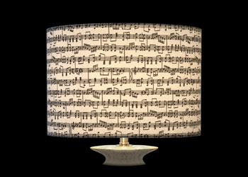 Lampshades Small Music Notes
