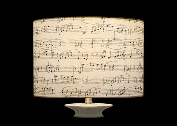 Lampshades Music Notes