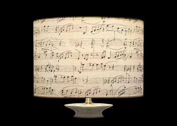 Abat-jour Music Notes