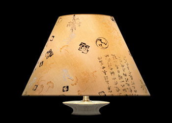 Abat-jour Kanji Art