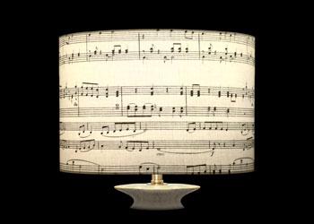 Abat-jour Music Notes 2