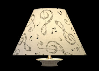 Lampshades Treble Clefs