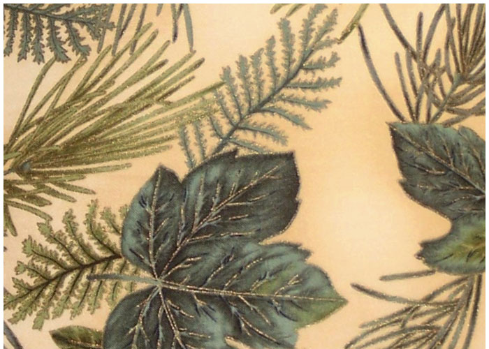 Abat-jour Leaves and Ferns